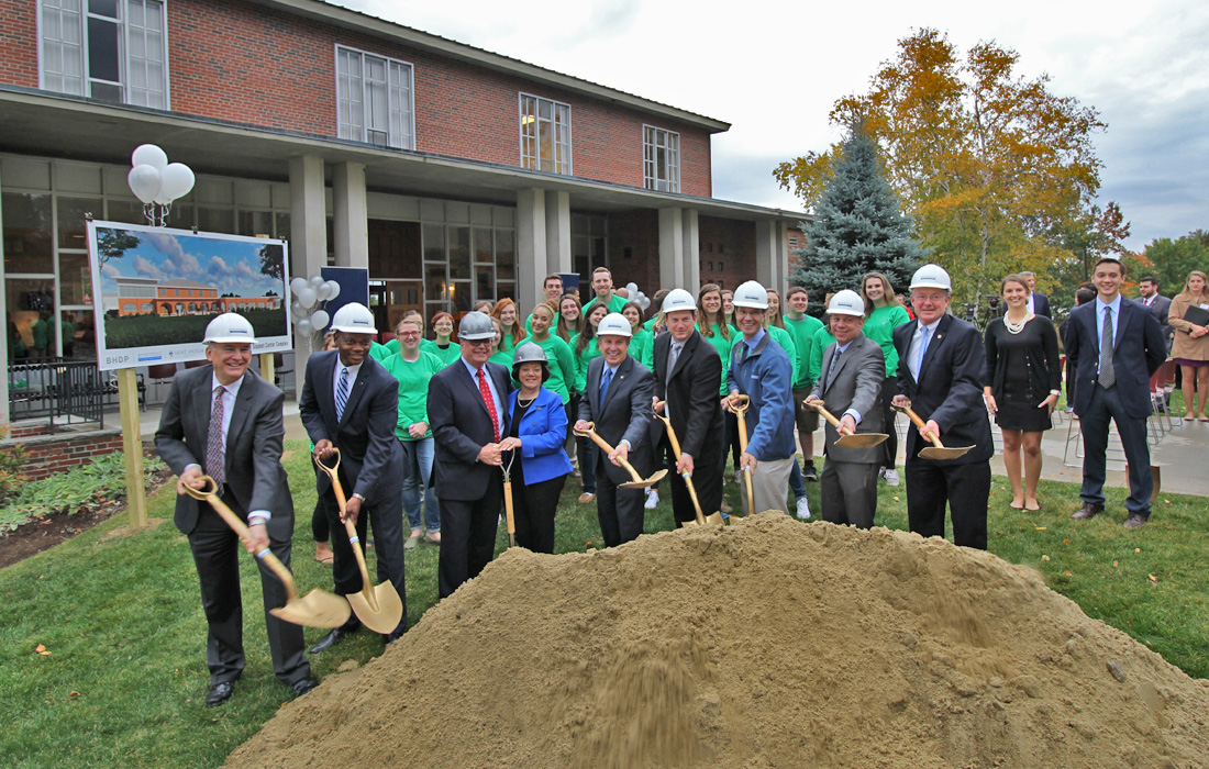 Saint Anselm College Student Center Groundbreaking