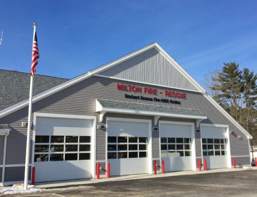 Eckman Delivers New Fire and Rescue Station in Milton