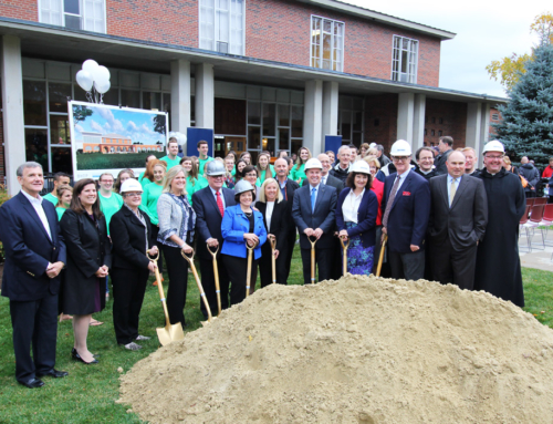 St. Anselm College Holds Ceremonial Groundbreaking