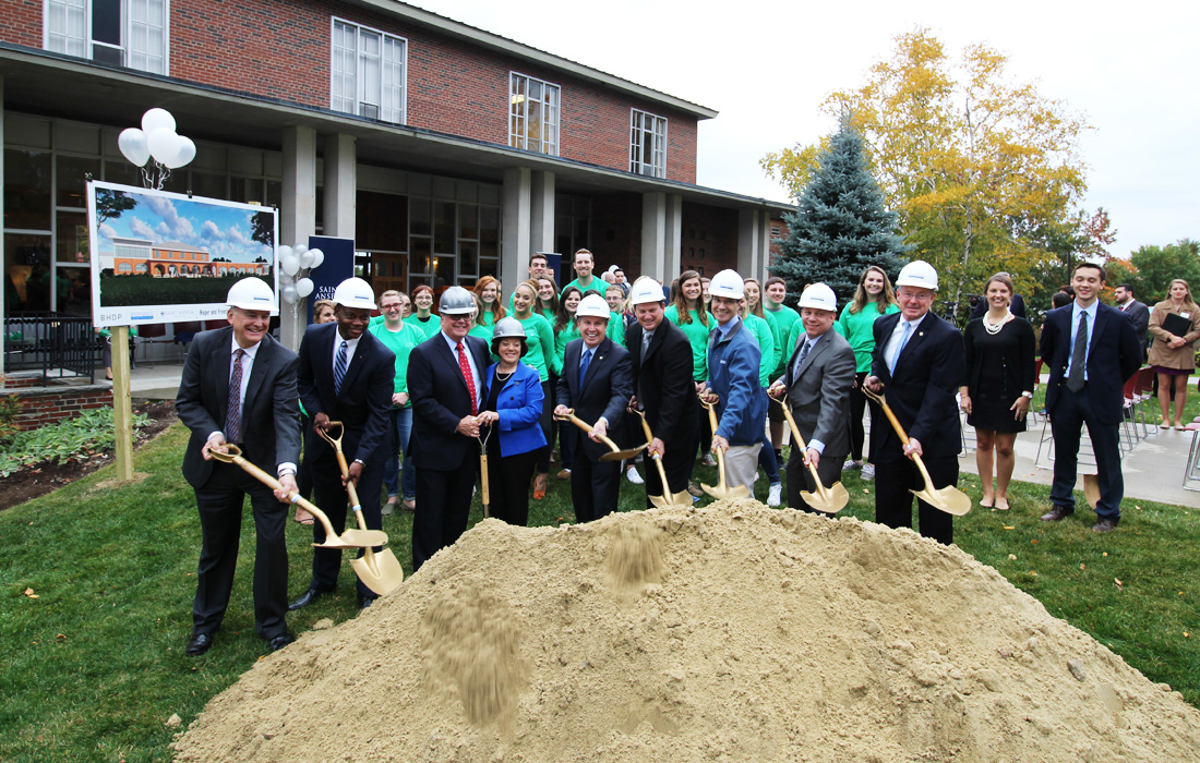 St. Anselm Student Center Groundbreaking