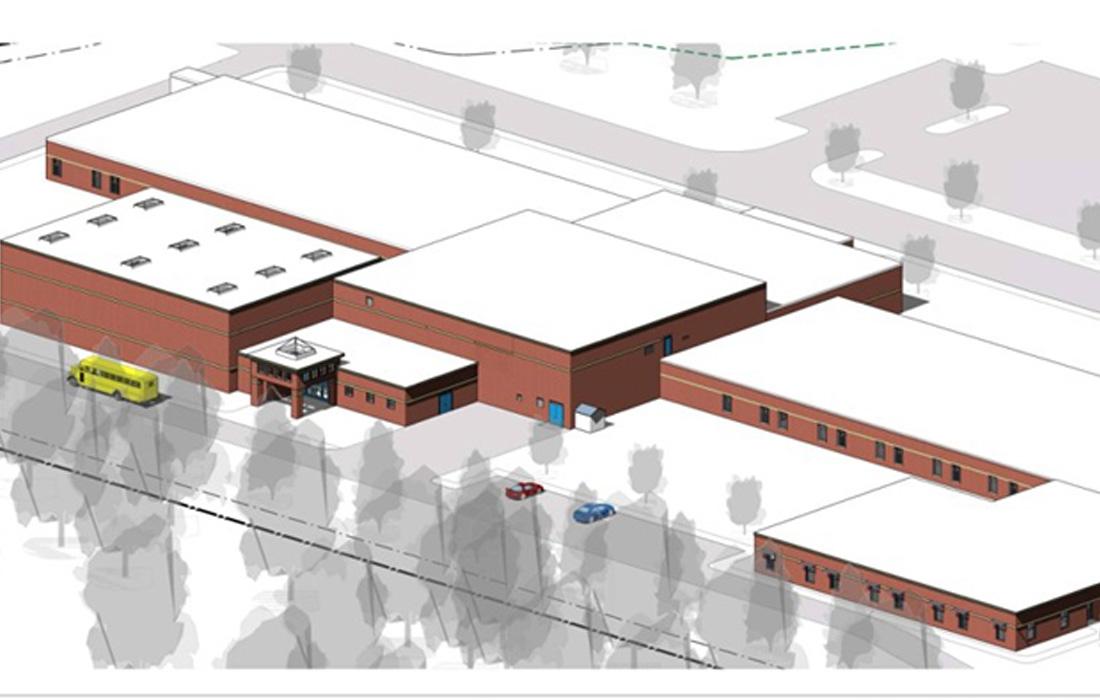Newmarket Elementary School Rendering