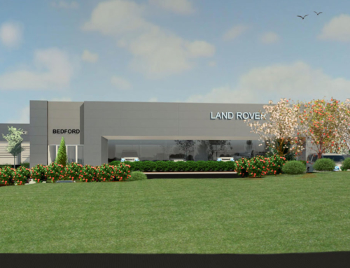 New Land Rover Facility in Bedford Approved