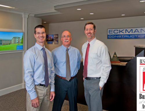 Eckman Construction Named Business of the Year