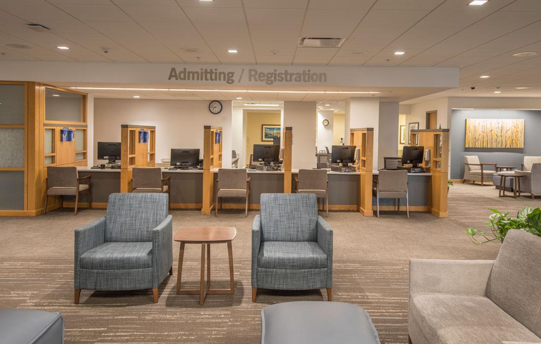 Elliot Hospital Lobby