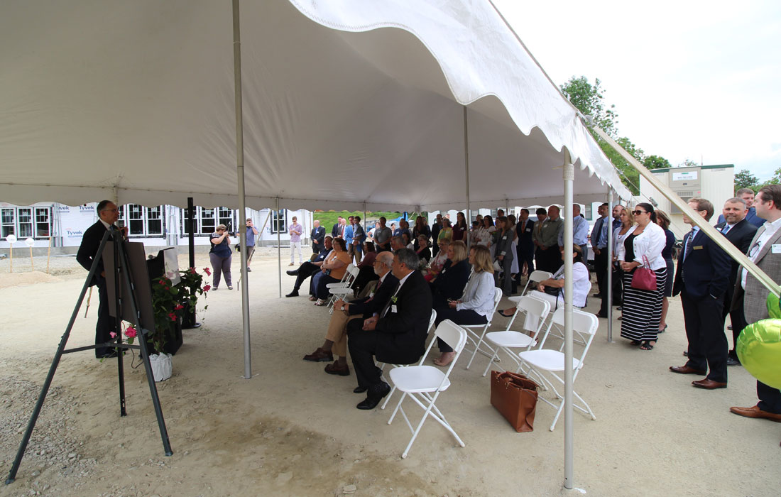 Silver Square Groundbreaking Dover