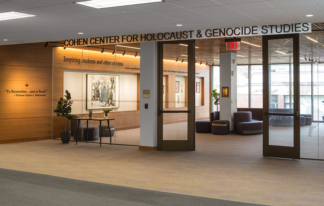 Eckman Construction, Bedford, NH, wins 2020 Escellence Award for Construction Management of Cohen Center for Holocaust and Genocide Studies, Keene State College