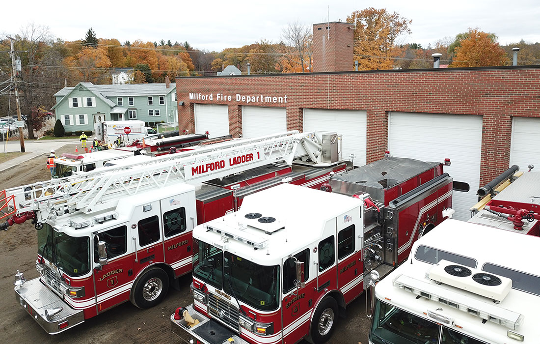 Construction Begins at Milford Fire Station