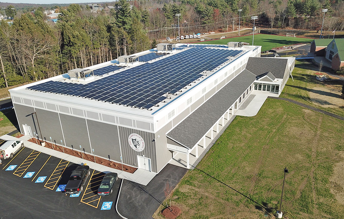 Eckman Completes Derryfield Athletic & Wellness and Science & Innovation Centers