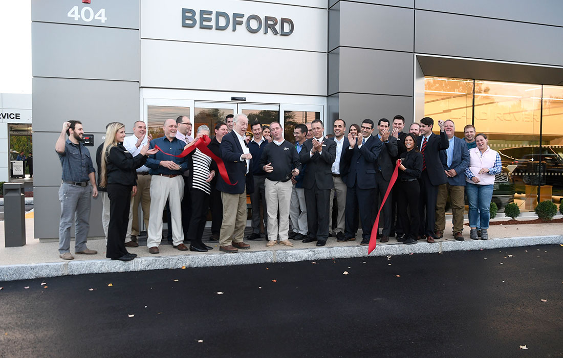 Eckman Construction, Goodwin Motor Group, Ribbon Cutting Ceremony, Completed Project, ARCH Design Concept