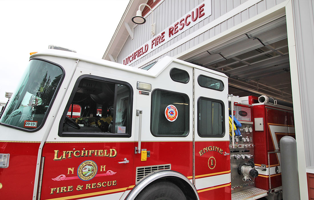 Town of Litchfield Celebrates New Fire Station
