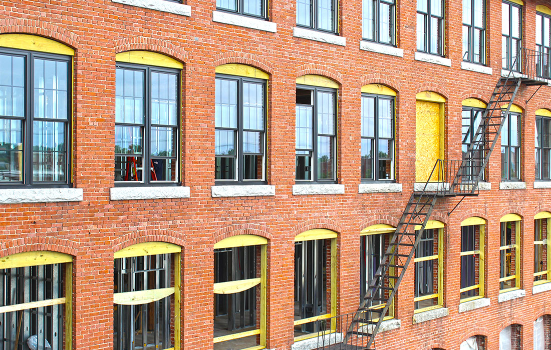 Eckman Construction, Adaptive Reuse, Mill Building, Renovation, Construction Manager, Factory on Willow