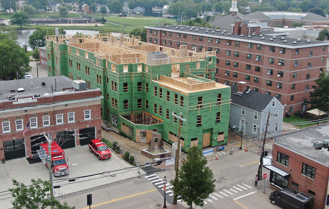 Eckman Construction, Bedford, Affordable Housing, Multi-Family, New, Construction, New Hampshire, Portsmouth Housing Authority