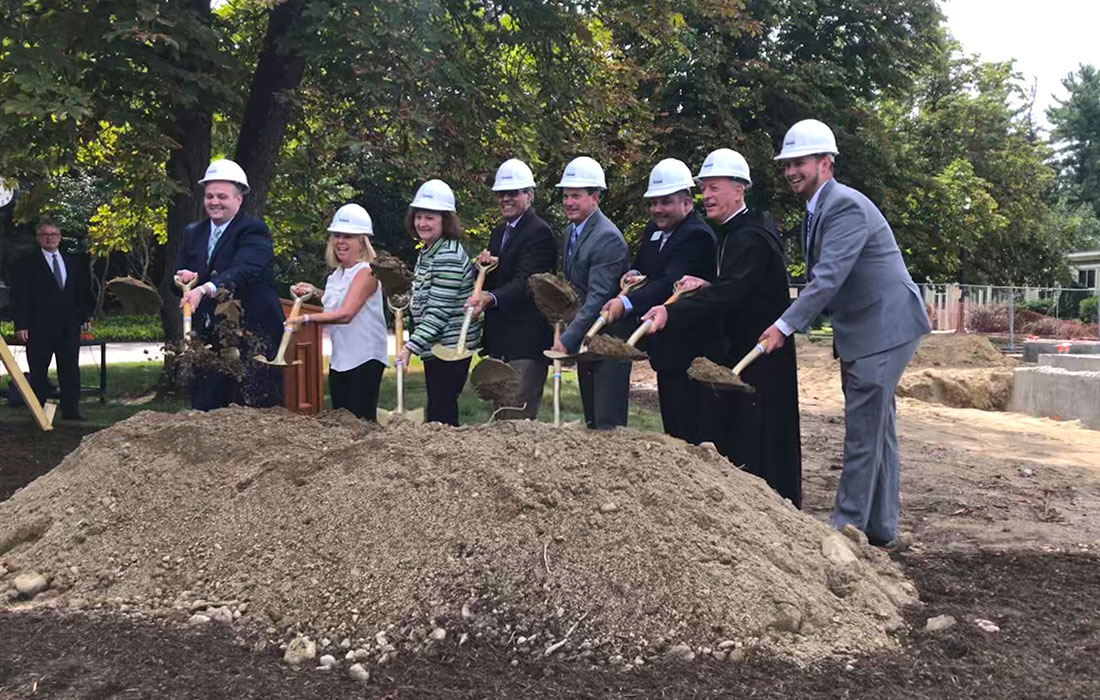 St. A's Breaks Ground on New Welcome Center
