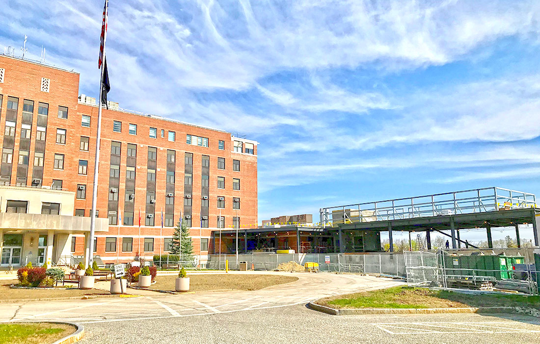 Manchester VA Medical Center, Eckman Construction General Contractor, Healthcare Addition and Renovation