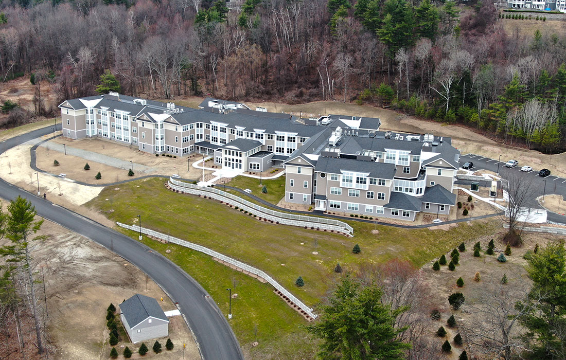 Eckman Construction, Construction Manager, New Hampshire, Senior Living, Bedford, New Construction