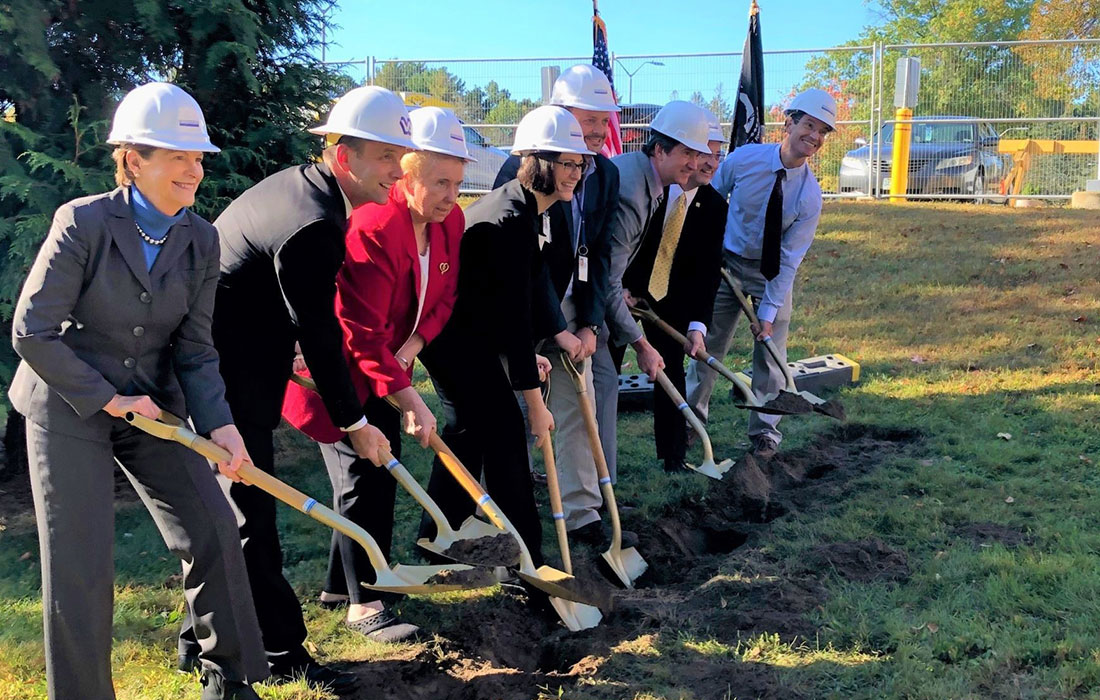 Manchester VAMC Groundbreaking Ceremony