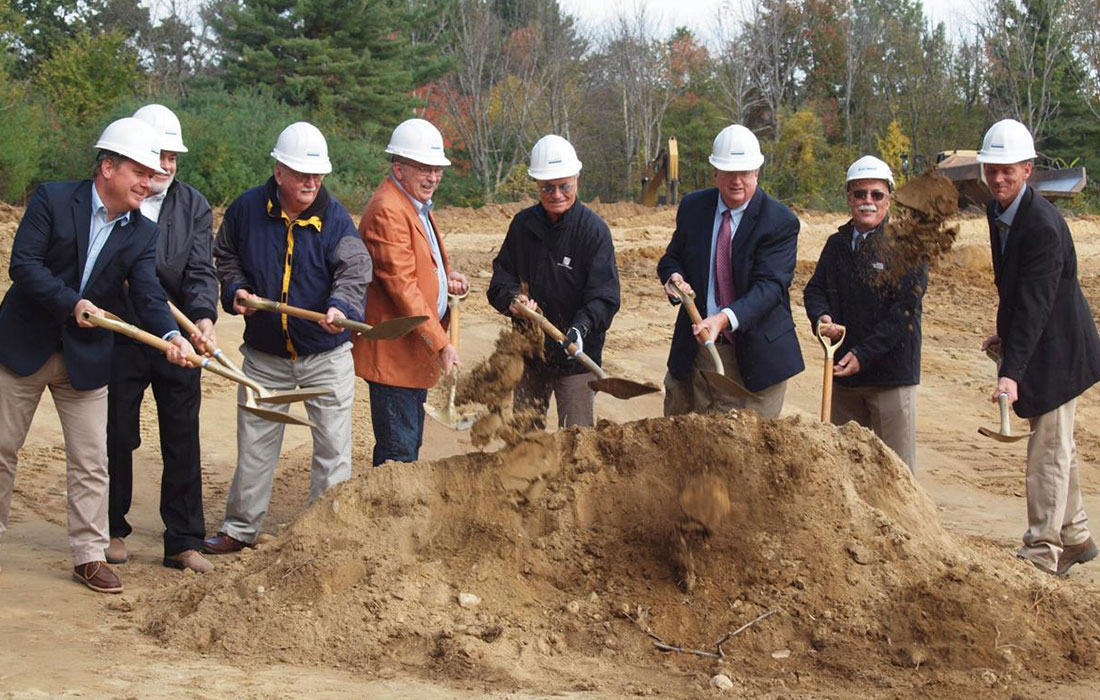Bowman Place at Olde Bedford Breaks Ground