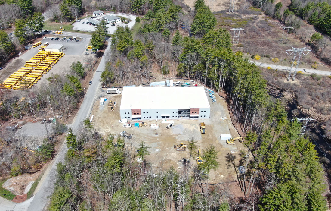 Eckman Leads Design-Build of Bedford Commercial Facility